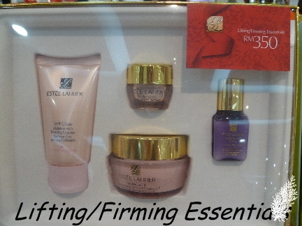 sets specially for the holidays. Estee Lauder offers skincare, makeup