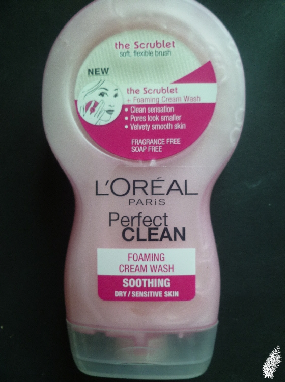 L'oreal Perfect Clean Foaming Cream Wash a.k.a. The Scrublet