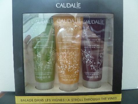 If You Can't Go To The Vines, The Vines Can Come To You : Caudalie A Stroll Through The Vines Shower Gel Set