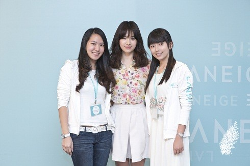 Chua & Saw with Song Hye-Kyo