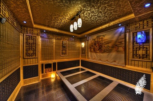 Japanese Ganbanyoku Sauna