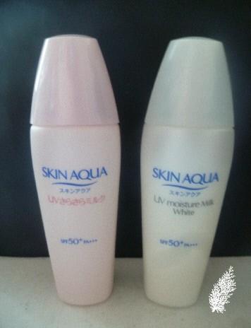 Skin Aqua New Sunblocks