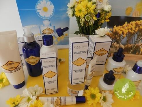 NEW L'occitane Immortelle Brightening Products