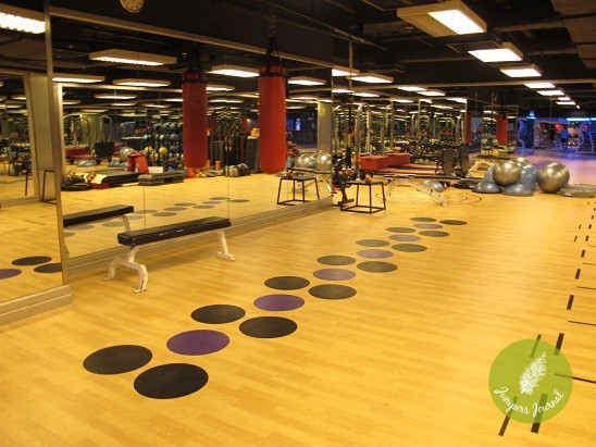 CF - PErsonal Training Area