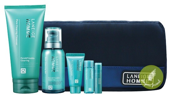 Holiday Collection - Sparkling Homme Pore Clearing Set RM228