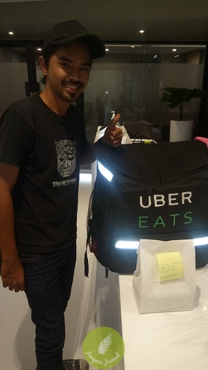 UberEATS brings you food without the need to battle traffic and look for a park
