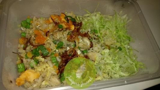 Wondermama salted egg yolk fried rice