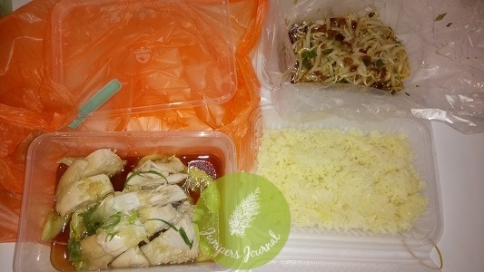 Ipoh Chicken Rice with Taugeh