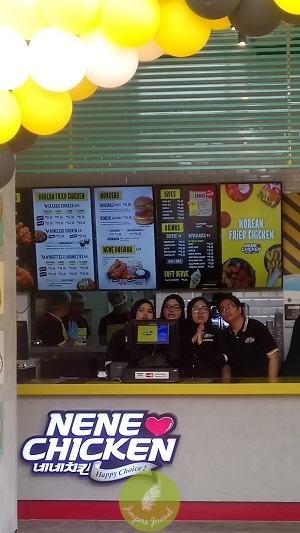 Nene Chicken welcomes all customers