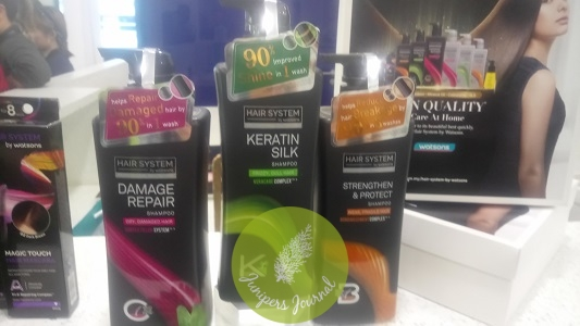 Hair System By Watsons Shampoos