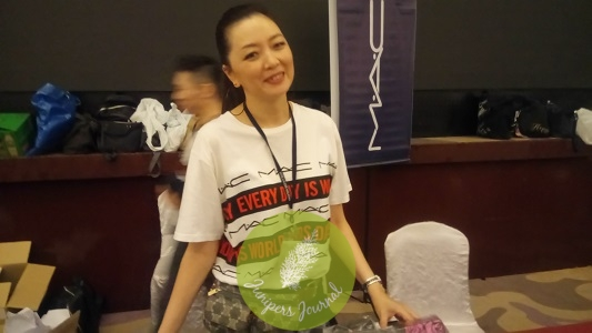 Ms. Anna Chang Brand Manager MAC Malaysia