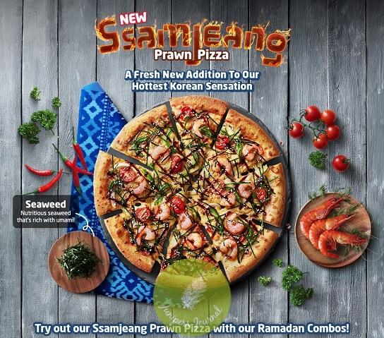 ssamjeang-prawn-pizza