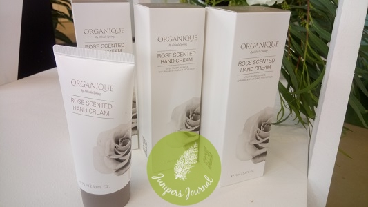 Organique By Olinda Spring Rose scented hand cream