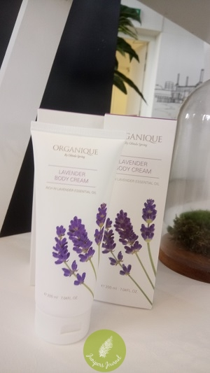 Organique By Olinda Spring lavender scented body cream