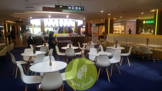 Rest and relax at the pop-up L'Occitane Cafe