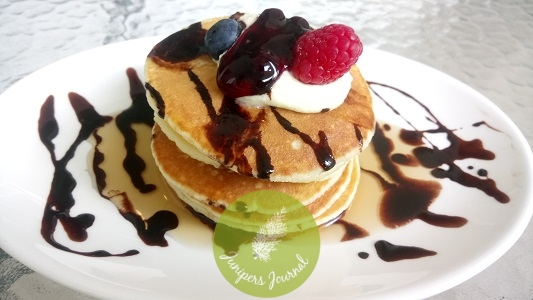 Create and stack you own pancakes
