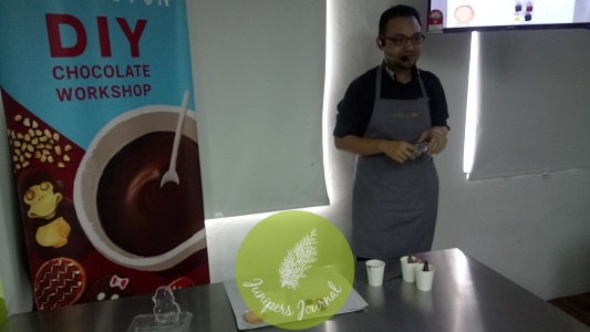 Our chocolate workshop presented by Harriston's Sales & Marketing Manager