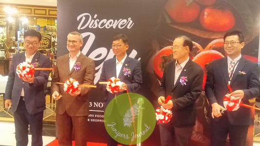 Discover Jeju launch at Jasons Food Hall