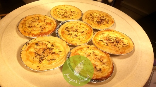 Spice, salmon & Pepper Quiche