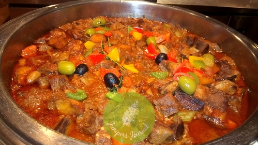 Braised Lamb With Dried Fruits