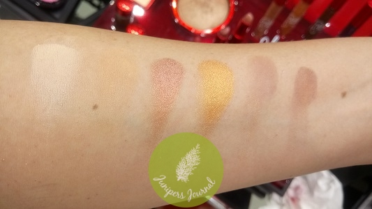 Oh, Holy Eyes swatches