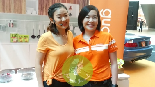 Asia's No. 1 Fitness YouTuber, Joanna Soh & Guardian Health & Beauty Head Of Marketing & Promotions, Ms. Wong Vai Chi