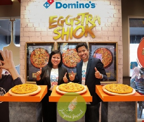 Domino's Pizza launches three Egg-cellent pizzas namely the Royale Chicken Pizza, the Royale Tuna Pizza and the Royale Delight Pizza