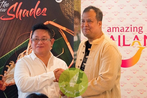 Mr. Ahman (Director of TAT) with Mr. Ken Leong (Founder of Mr Tuk Tuk Malaysia)