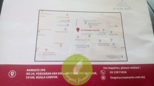 Details of Namaste Spa