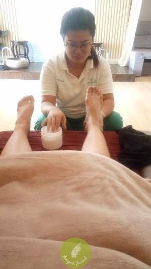 Foot massage yay!!