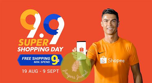 Super Shopping Day with Shopee Brand Ambassador Cristiano Ronaldo