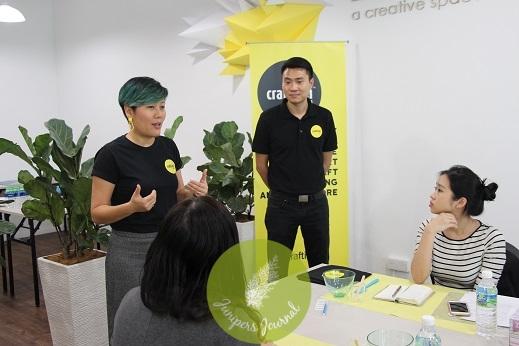 Founder of Creativiti, Leong Wei Yein & Eugene Tham
