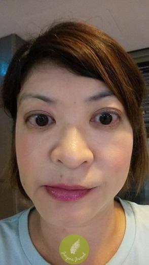 Worn under lipstick