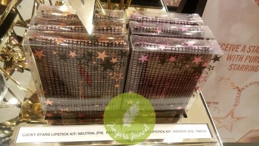 MAC Cosmetics Lucky Stars Lipstick Kit Neutral & Vibrant