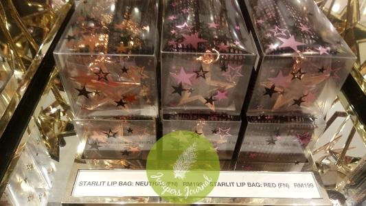 MAC Cosmetics Starlit Lip Bag RM199