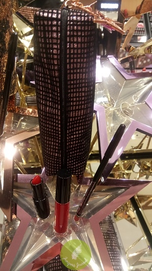 MAC Cosmetics Starlit Lip Bag Red