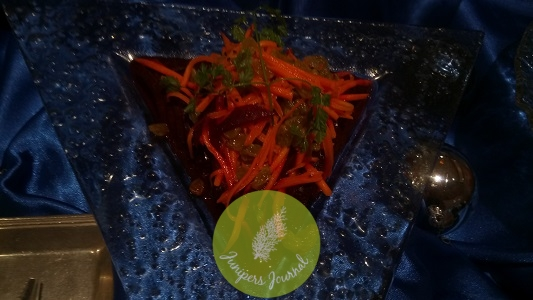 Beetroot, Carrot & Sultana Raisin With Sweet Lemon Mustard Dressing