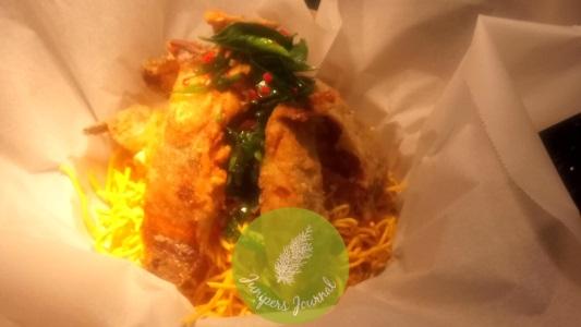 Ikan Goreng Kari Pulleh Rangup Johor Berlada Hitam by Chef Isham