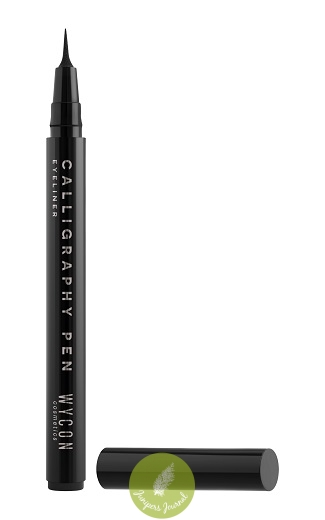 Calligraphy Pen Eyeliner RM49 - available in Black Super black eyeliner in pen with very high precision tip to draw perfectly defined lines in a single stroke, thin or bolder, depending on the desired effect