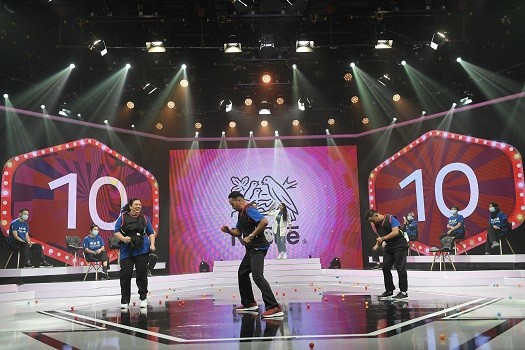 The 16 finalists took part in a variety of fun-filled games during Nestlé 'Salary for Life' grand finale game show