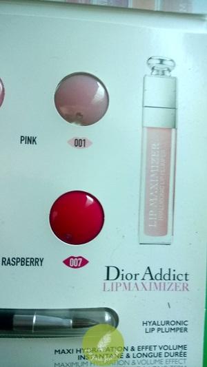 Dior Lip Glow 001 & 007