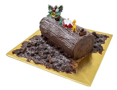 Dark Chocolate Log Cake 500gm/RM39.90