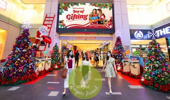"Fahrenheit88 welcomes shoppers to mall for ""Joy of Gifting"""