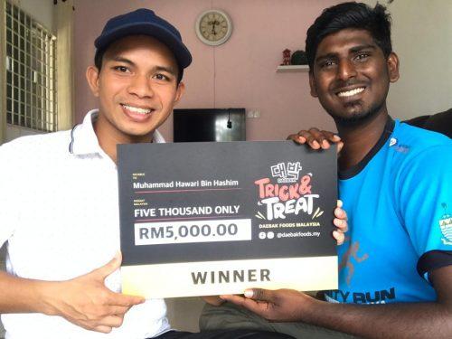 Winner Muhammad Hawari Bin Hashim
