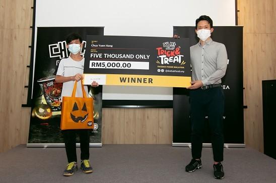 Winner Chua Yuen Hang
