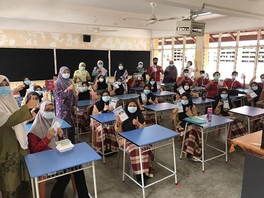 Yayasan Hartalega has supplied COVID-19 packs to students in rural schools in Batang Berjuntai, Sepang, Banting and Sabah