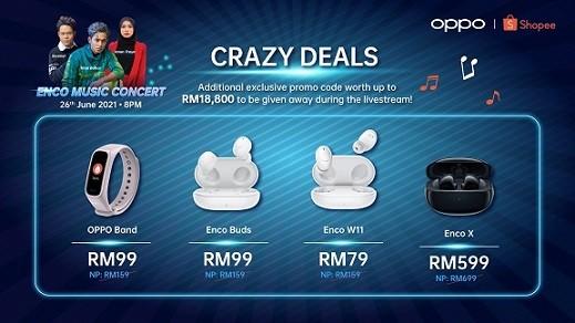 oppo-enco-music-concert-crazy-deals