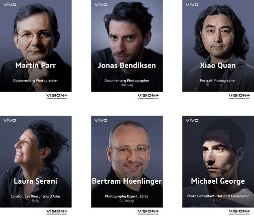 VISION+ Mobile PhotoAwards 2021 Panel of Judges