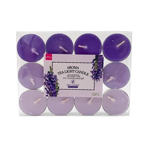 daiso-aroma-tea-light-candle-sweet-lavendar