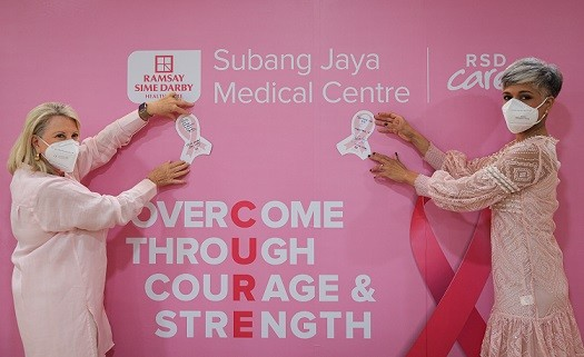 SJMC is donating RM5 to Cancer Research Malaysia (CRM) for each message penned on the 'Board of Hope'. As requested by SJMC, photo credit for Photo 2 & 3 is to Annice Lyn / Subang Jaya Medical Centre